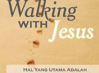 Walking with Jesus / Buku ini merupakan pengalaman saya pada waktu sakit, 2,5thn yang lalu. saya bersyukur bisa berjalan dan bertemu bersama Yesus