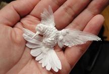 Paper birds. / by Shirley Bennett