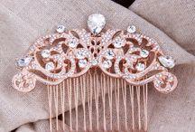 Rose Gold Hair Comb
