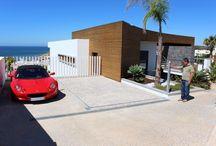 Hidden parking for a fabulous villa in #Lagos #Portugal