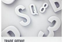 Trade Gothic / Jackson Burke / Linotype, 1948