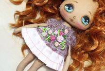 куклы текстильные