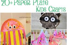 Paper Plate Crafts / You will find easy crafts made with paper plates for kids on this board.