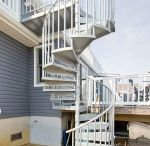 Outdoor Spiral Stairs