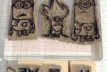 Undefined stamp designs