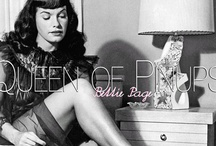 Bettie Page / Queen of pinups
