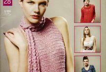 punto y moda / revista de tejidos