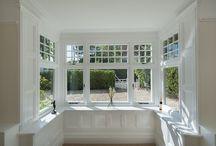 Bay window external and internal