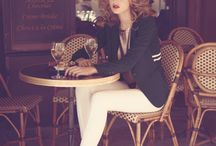 """""""A girl should be two things: classy and fabulous."""" - Coco Chanel / My kind of style.  / by Ciera Mack"""