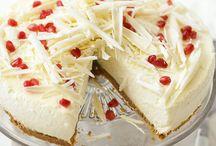 White chokolate ricotta cheesecake