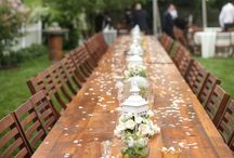 Wedding - Tables and Seating / by Hayley Smith