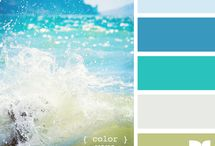 Color Palettes - Blues & My Faves / by Caroline English