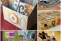 organizer & boxes