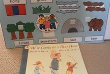 Picture story books.