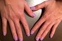 Nails at Fame / We specialize in artificial nails that are acrylic with a gel top. We do not use primer and monomer liquid, as those are too full of chemicals that damage the natural nails.