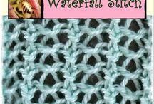 waterfall stitch