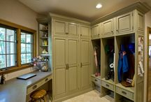 mud and laundry room ideas / by LM
