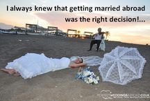 Wedding Thoughts / Thinking about a wedding abroad?... See how it might feel...