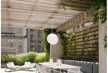 Urbaanit pihat ja parvekkeet / Puurakenteita kaupunkipihoissa: kaupunkiterassit, parvekkeet, urban decking