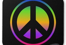 Peace Symbols / Custom and customizable peace symbol, sign and themed images and gifts.  / by Annalee Blysse