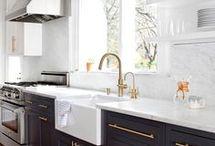 Hvide køkkener