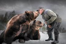 Sulo Karjalainen + karhut