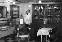 Barber Shop B & W Photography