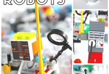 Lego- robots STEM STEAM
