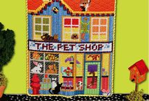 Just for Fun Needlepoint by Ruth Schmuff @ Bedecked and Beadazzled