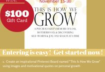 This Is How We Grow  #TIHWG / Inspirational  #TIHWG
