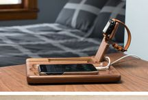 iPhone and watch stand