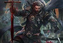 Miecz średniowiecze fantasy