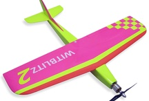 Radio Control Planes / This is a second generation foam and wood pylon racer, capable of over 200 km/h. Highest speed recorded is 253 km/h. Wingspan: 720mm, Battery: 4S 1300mA/h LiPo.