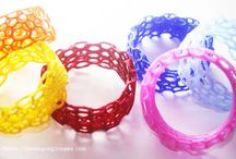 3D printed jewelry / beautiful pieces of jewelry 3D printed