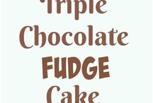 Chocolate always.