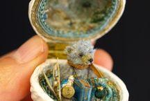 Miniature Dolls in Presentation Box