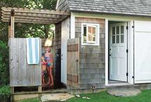 {Water Mill Pool House}