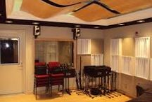 New England Conservatory of Music / Recording Studio Designed and Build by Westlake Pro.