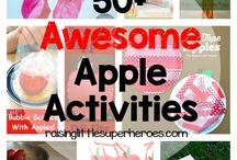 A is for Apple / Activities, crafts and resources for parents and teachers