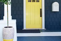 "Great Front Doors / A homes ""Front Door"" has the highest return on investment for homeowners wishing to increase the homes curb appeal and value. / by Georgina RELATES"