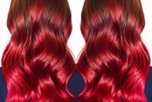 Red - Color Intensity inspiration / Feeling inspired by this board? Ask your hairdresser for Color Intensity!