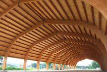 Impianto sportivo a Brembate (BG) / Struttura in legno per il centro sportivo di Brembate https://www.marlegno.it