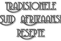 Tradisionele SA Resepte