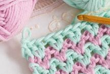 Double crochet - V stitch
