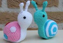 escargot en laine