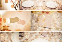 All That Glitters is Gold / Gold Reception Ideas