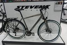 STEVENS BIKES direttamente dalla Germania / biciclette tedesche di alta qualità ed affidabilità tedesca. Visita il sito www.stevensbikes.com Coming soon in our shop and webshop www.marinorossi.com