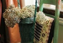Vintage Funeral Baskets