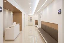 Hospital interiors
