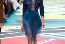 VR - London fashion week / The trends and colours from London Fashion week
